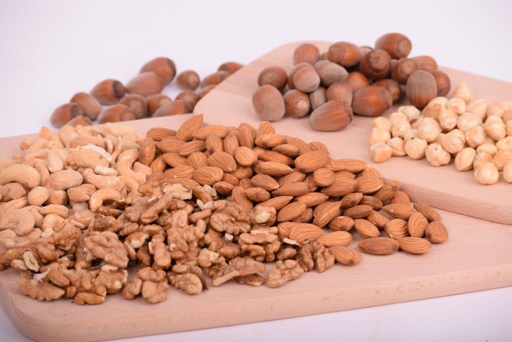 nuts benefits in healthy hair