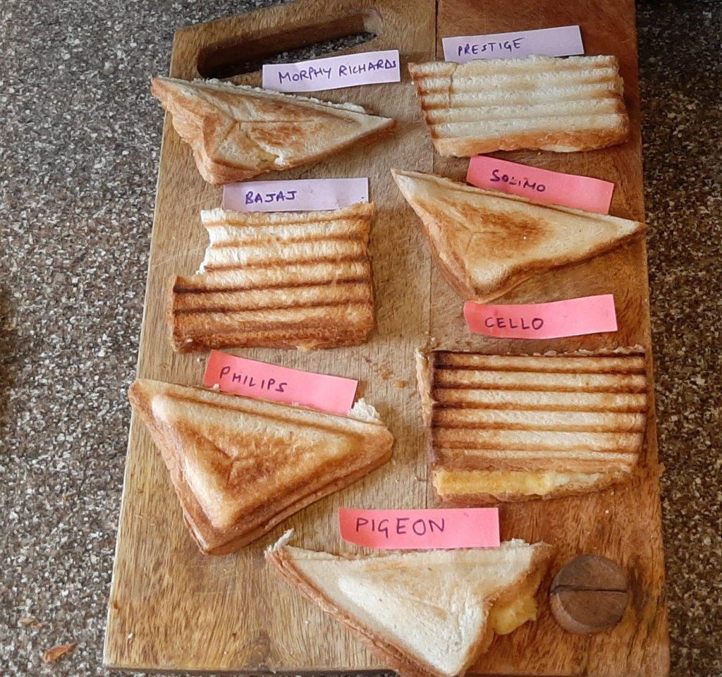 Final results - best sandwich maker