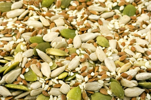 foods for hair growth- seeds