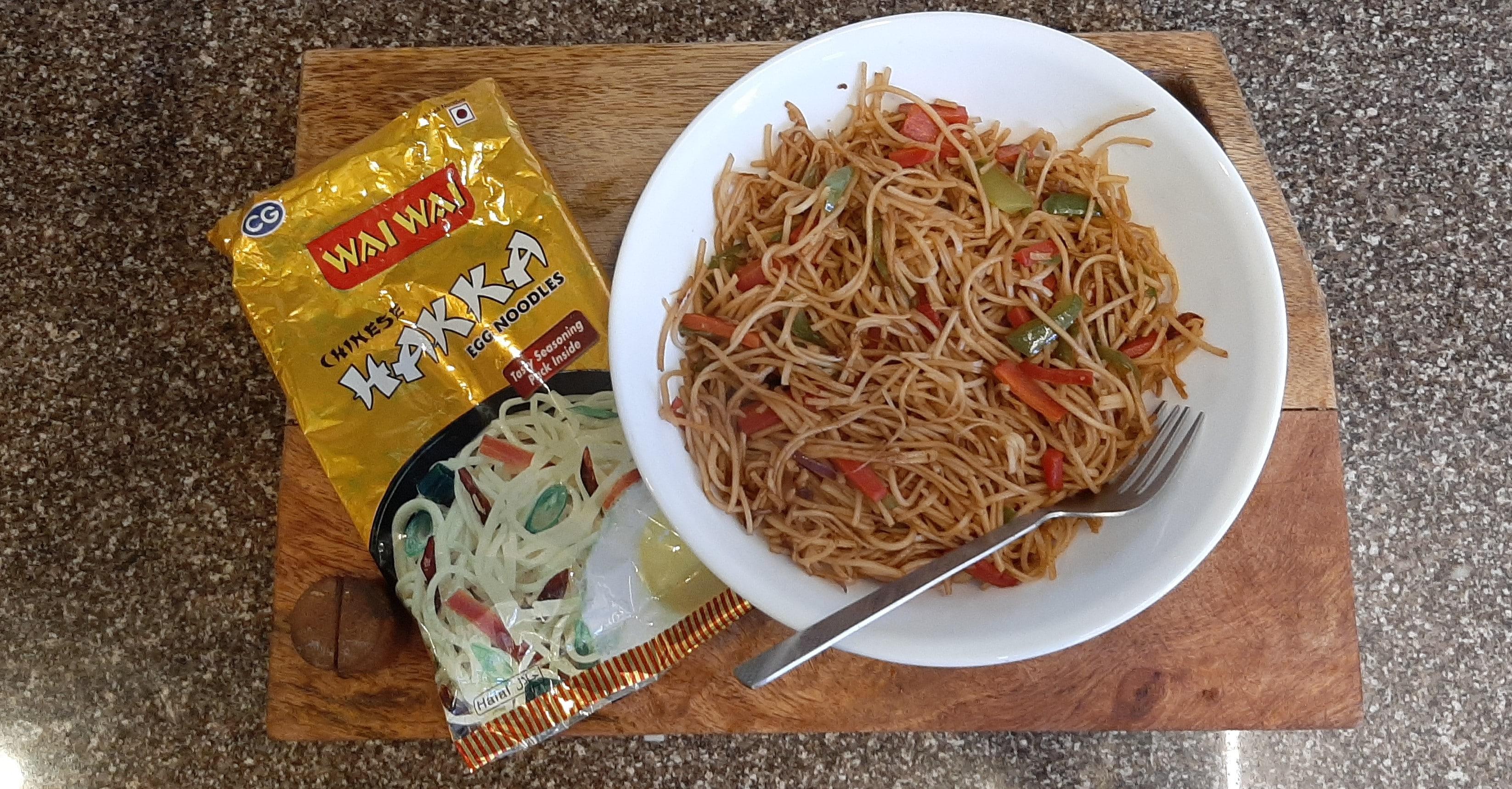 Top Wai Wai Chinese Hakka Egg Noodles Review