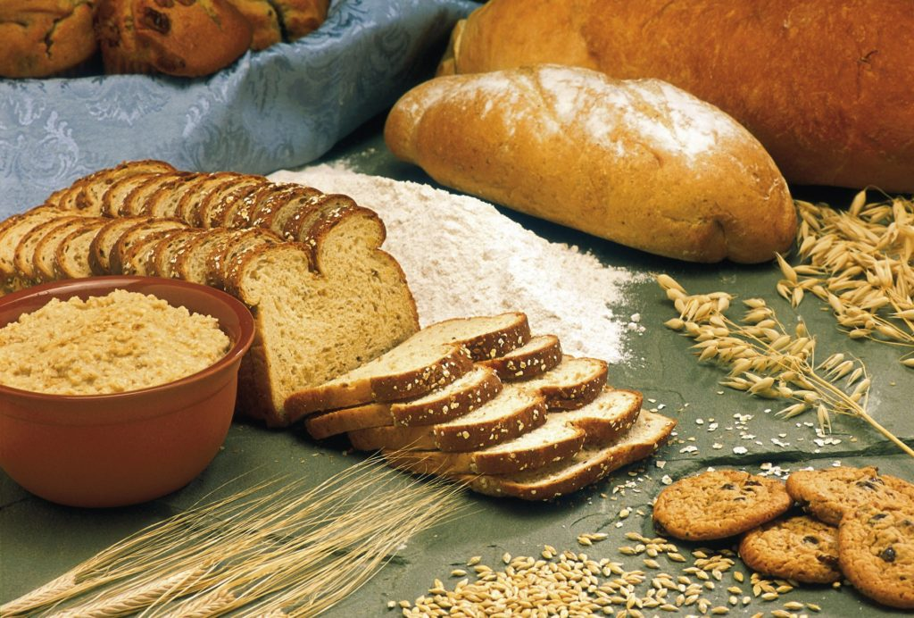 foods for hair growth - whole grain