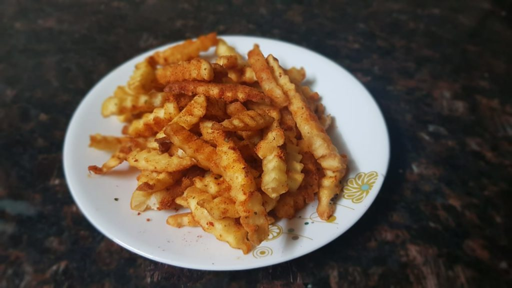 McCain Crazy Fries With Masala Mix Review