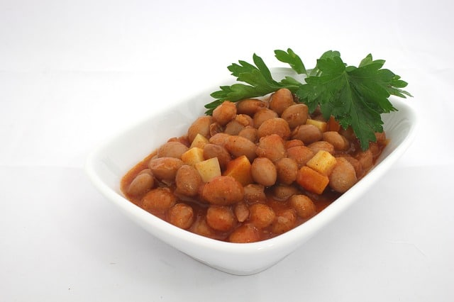 Kidney beans are a good source of dietary fiber and protein