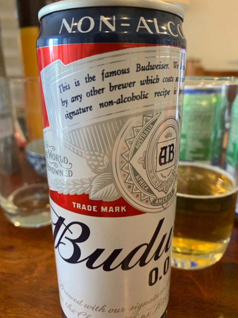 Budweiser 0.0 Non Alcoholic Beer Review