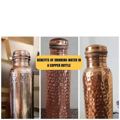 Benefits of drinking water in a copper bottle