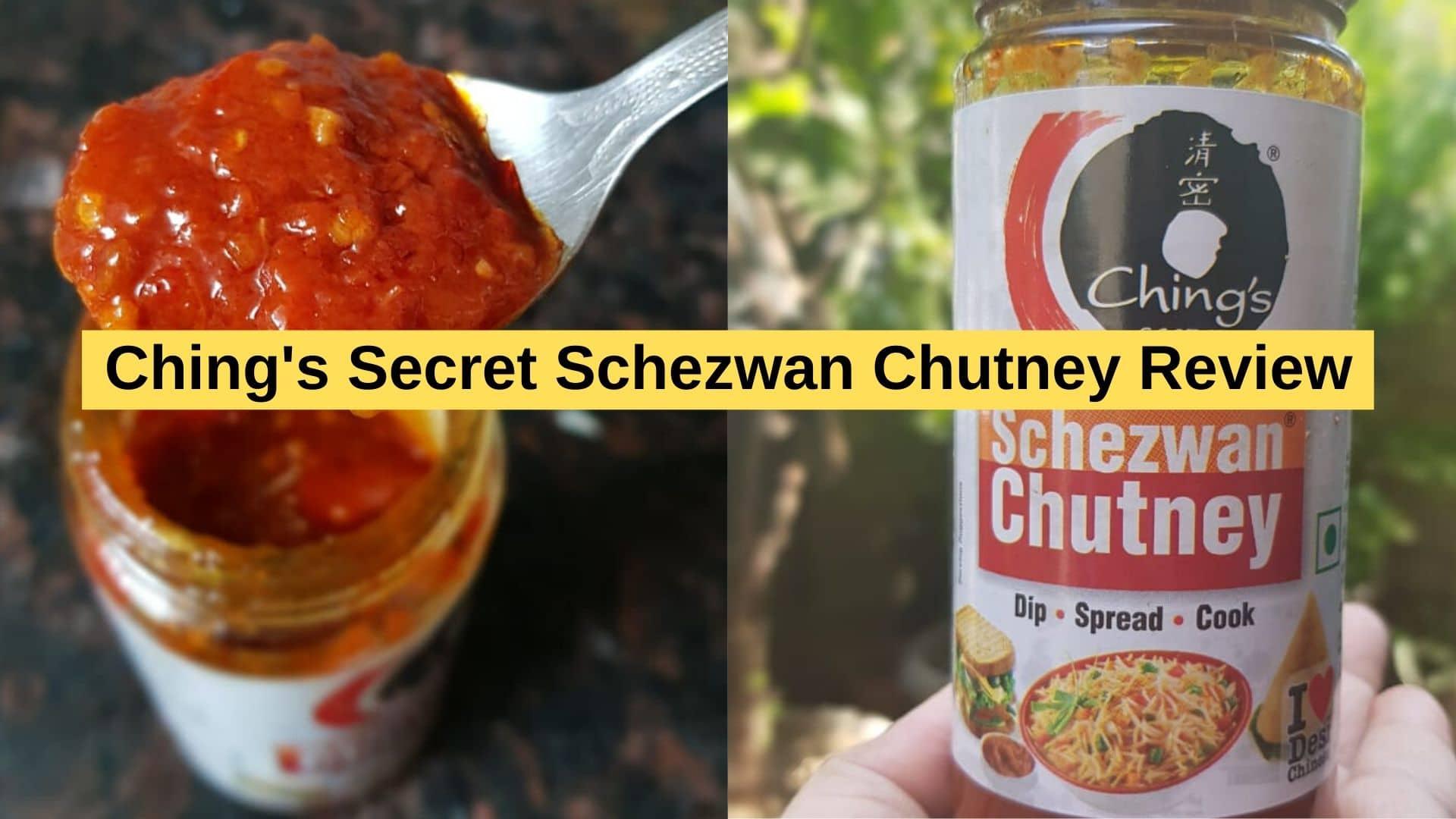 Ching's Secret Schezwan Chutney Review
