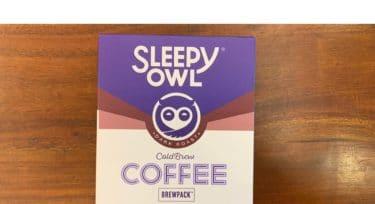 Sleepy Owl's Coffee Brew Pack