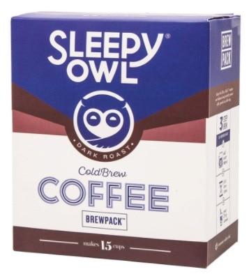We LOVED Sleepy Owl's Coffee Brew Pack