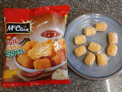 mccain cheesy nuggets review
