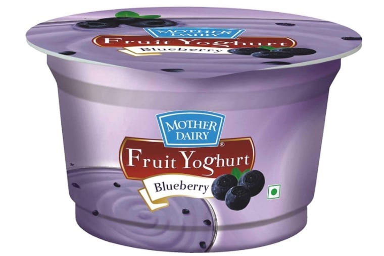 Mother Dairy Fruit Yoghurt Blueberry review