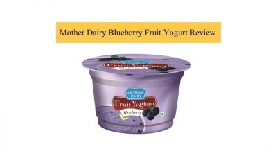 Mother dairy blueberry fruit yoghurt review