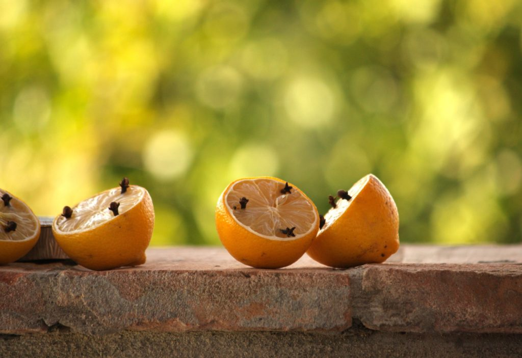 cloves in a lemon