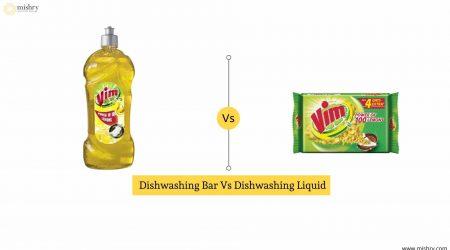 Dishwashing Bar Vs Dishwashing Liquid
