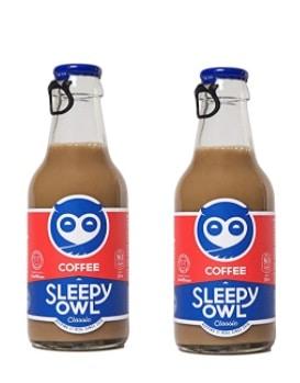 sleepy owl cold coffee