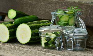 zucchini in a glass jarzucchini in a glass jar