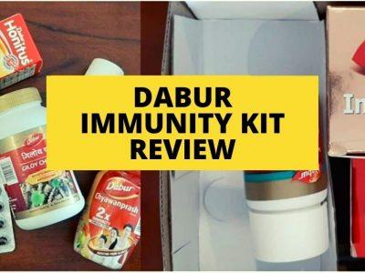 Dabur Immunity Kit review