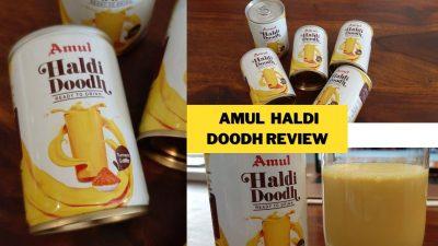 amul haldi doodh review
