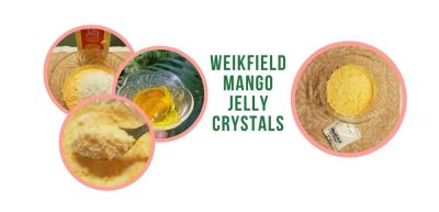 weikfield mango flavor jelly crystals review