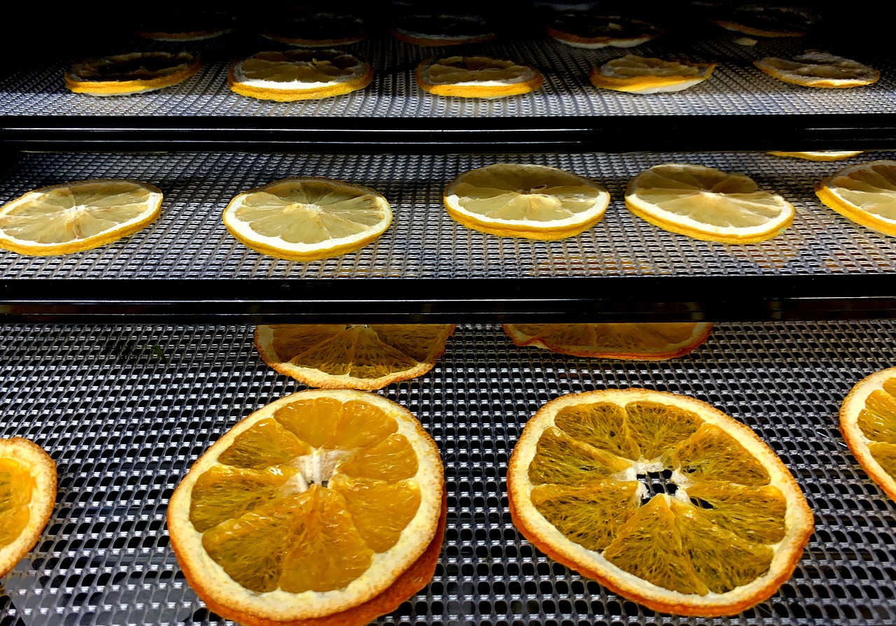 How and why to dehydrate oranges?