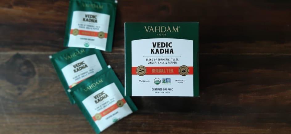unboxed vedic kadha herbal tea