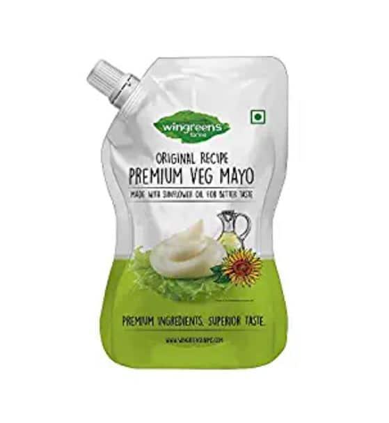 wingreens farms premium veg mayo