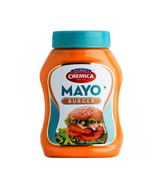 cremica mayo burger spread