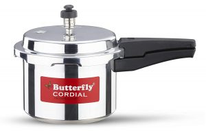 butterfly cordial aluminum non induction pressure cooker