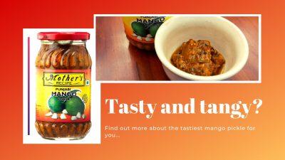 mother's recipe punjabi mango pickle review