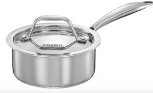 Amazon Solimo Triply Stainless Steel Saucepan Review