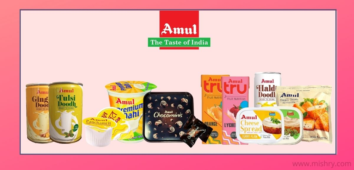 amul brand products