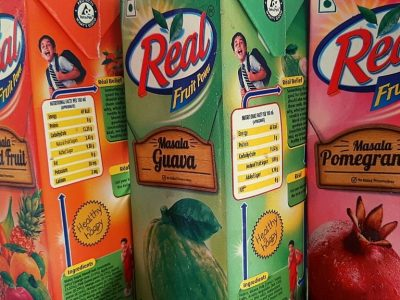 real fruit juice flavours