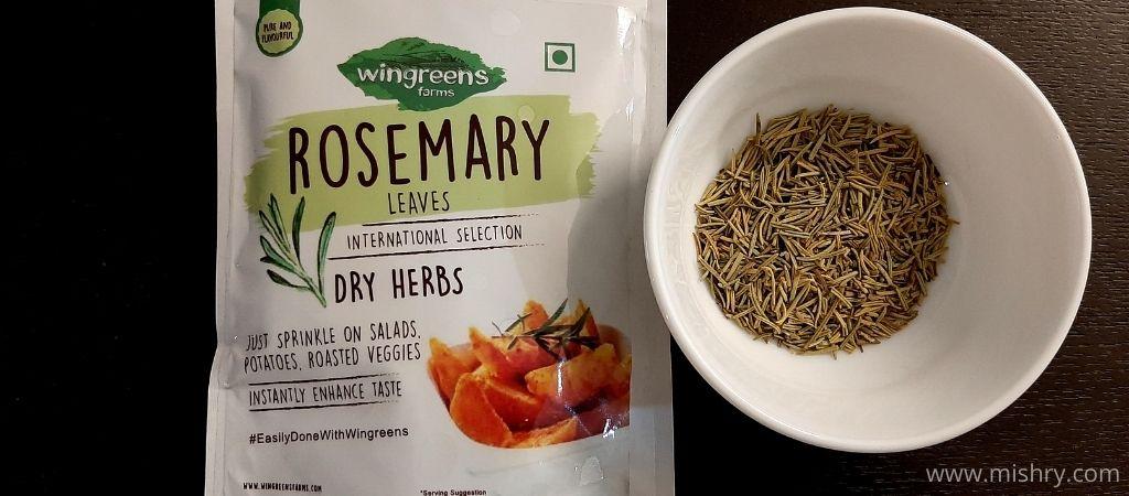 rosemary dry herbs