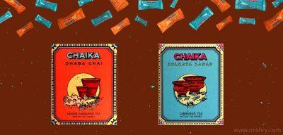 chaika Instant tea premixes review