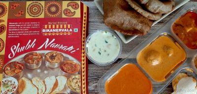 bikanervala navratri thali review