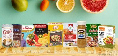 best chaat masala brands in india