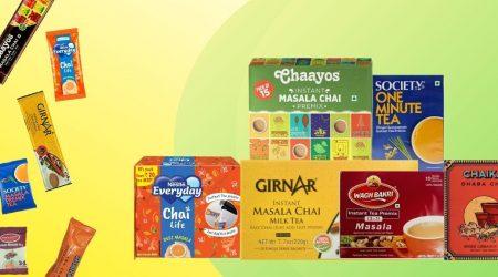 best instant masala tea premix brands