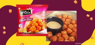 mccain chilli garlic potato bites review