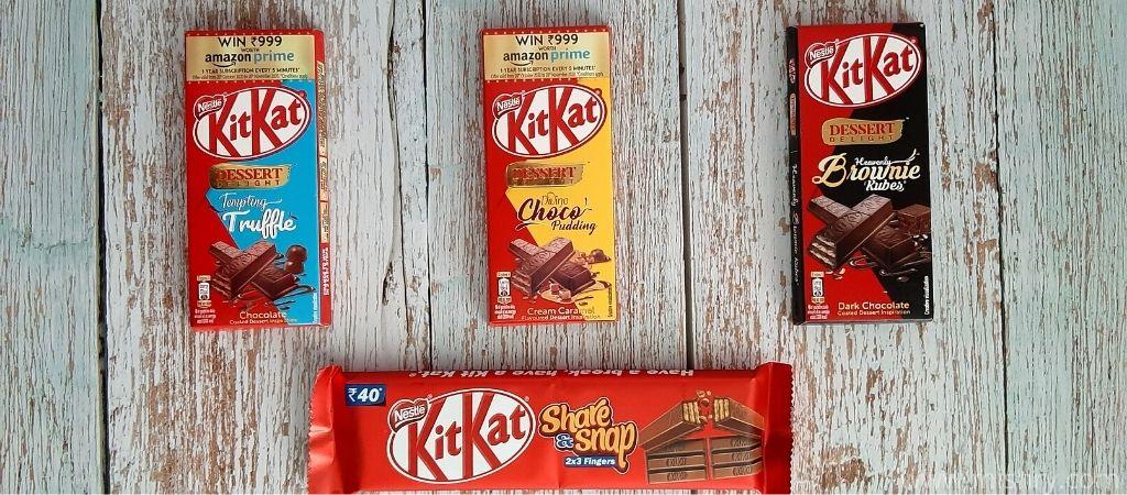 nestle kitkat chocolate product