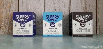 sleepy owl hot brew coffees review