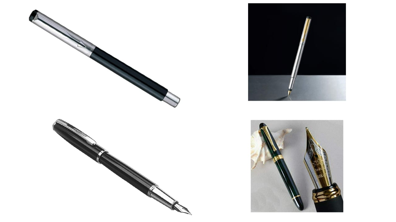 Gold leaf EXCLUSIVE JINHAO X450 MARBLE BODY FOUNTAIN PEN
