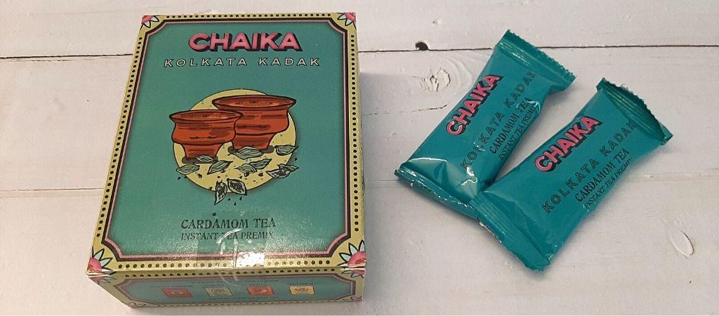 Chaika Kolkata Kadak Chai Premix packaging
