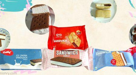 best ice cream sandwich brands in india