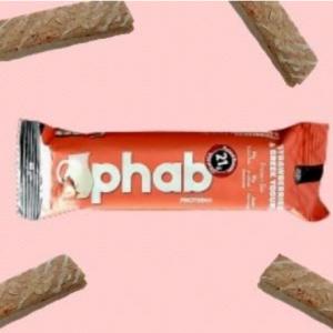 phab protein bar strawberry and greek yogurt