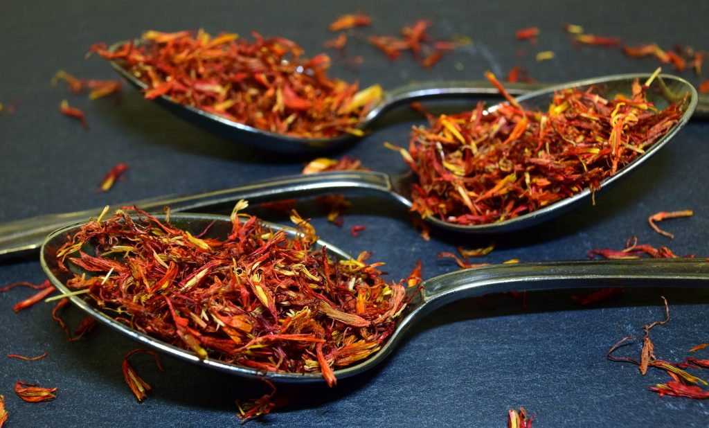 kadha with saffron