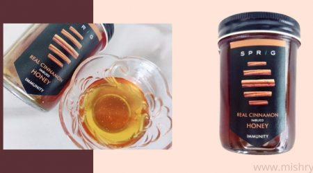 sprig real cinnamon imbued honey review