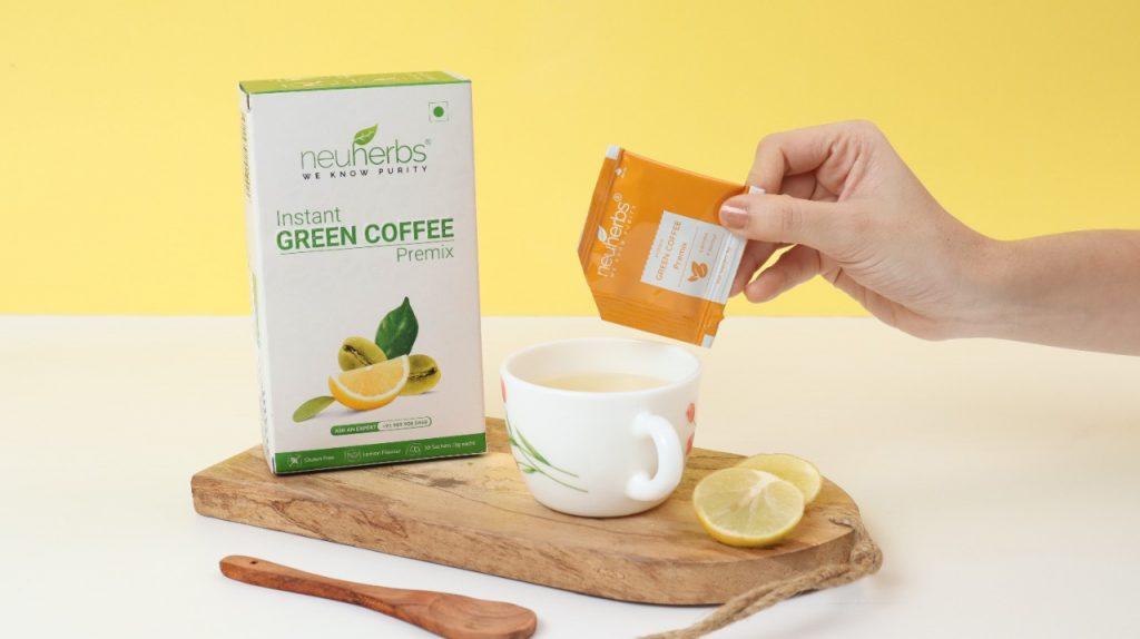 Neuherbs Green Coffee Mix: Aroma