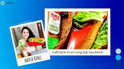 Footlong Sandwich Using Harvest Gold Subz Footlong Bun