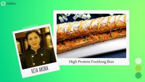 High Protein Bun using Harvest Gold Subz Footlong Bun