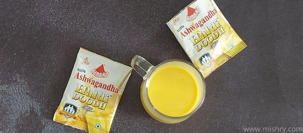 bambino haldi doodh ashwagandha milk