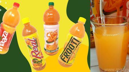 best mango juice brands in india